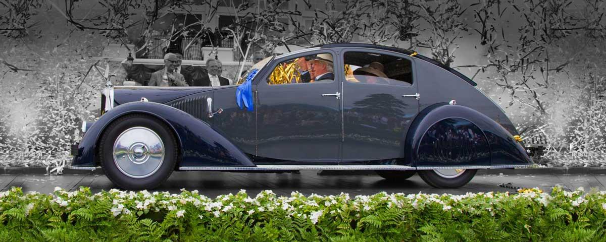 Concours d'Elegance car transportation