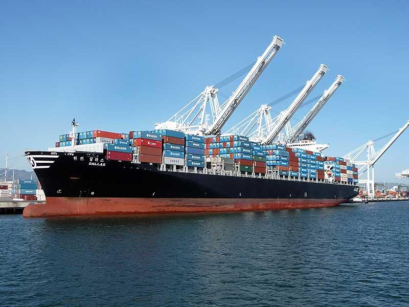 International automobile sea freight